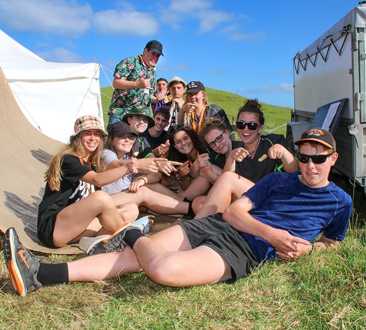 Venturers camping