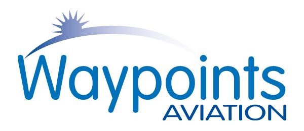 Waypoints Aviation Logo