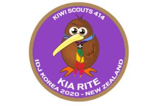 Kiwi Scouts 414 badge