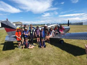 Youth attend Staveley Adventure Camp
