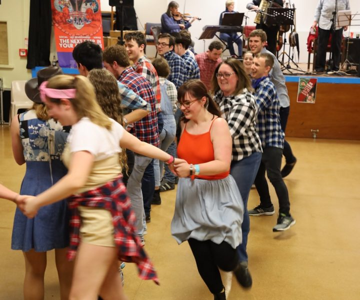 Rovers at Barn Dance
